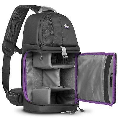 Travel Camera Bag Case Backpack for DSLR SLR Canon EOS Rebel