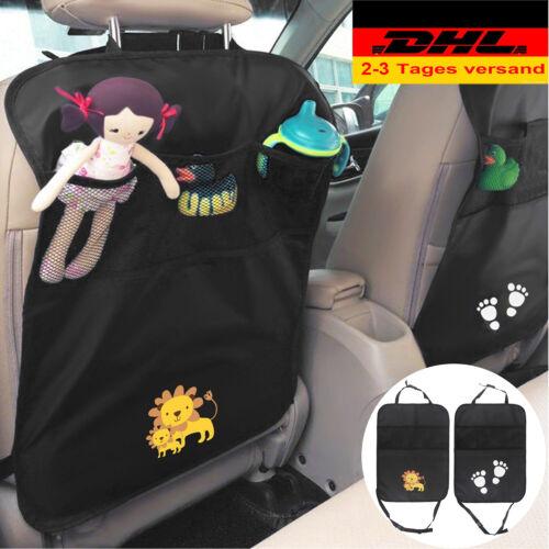 DHL 2x Auto Rücksitz Organizer Kinder Rückenlehnenschutz Rückenlehnen Schutz