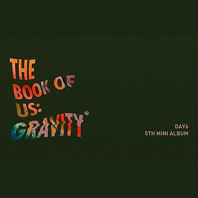 DAY6 - The Book of Us : Gravity CD+Photobook+Photocards+Bookmark
