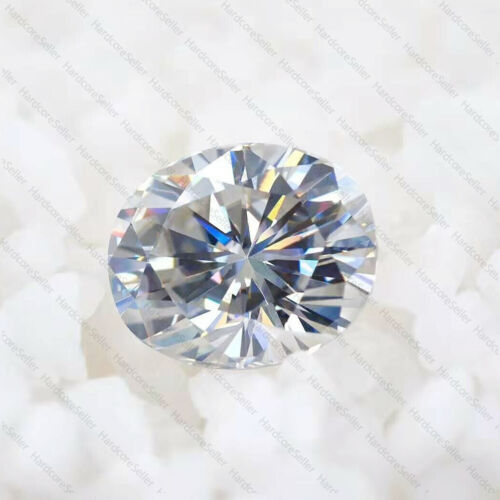 White D Color Oval Cut Moissanite Stone Loose Gemstone With Certificate