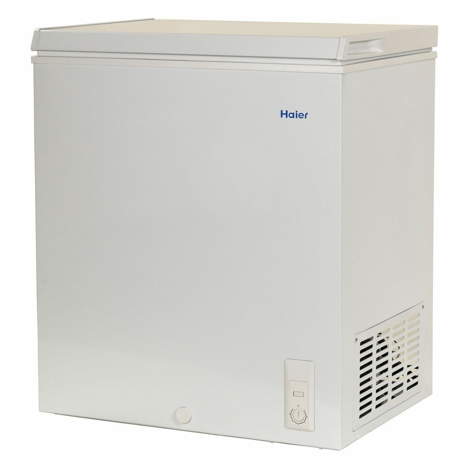 haier chest deep freezer 5 0 cu ft small size compact dorm apartment