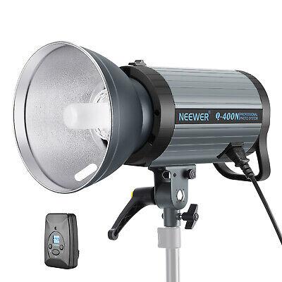 Neewer 400W GN65 Studio Flash Strobe Light Monolight with 2.4G Wireless Trigger