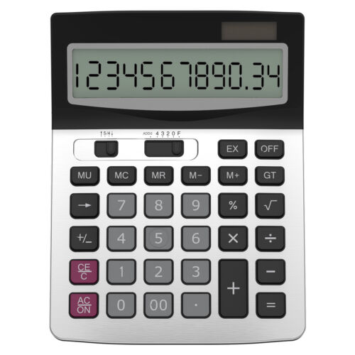 Helect Standard Function Desktop Business Calculator H1006