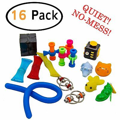 Toys For Autism (B-THERE Fidget Toys for Kids and Adults Cool Sensory ADHD Autism Set of)