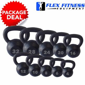 New Cast Iron Kettle Bells, Packages start from $3 per/kg!! Malaga Swan Area Preview
