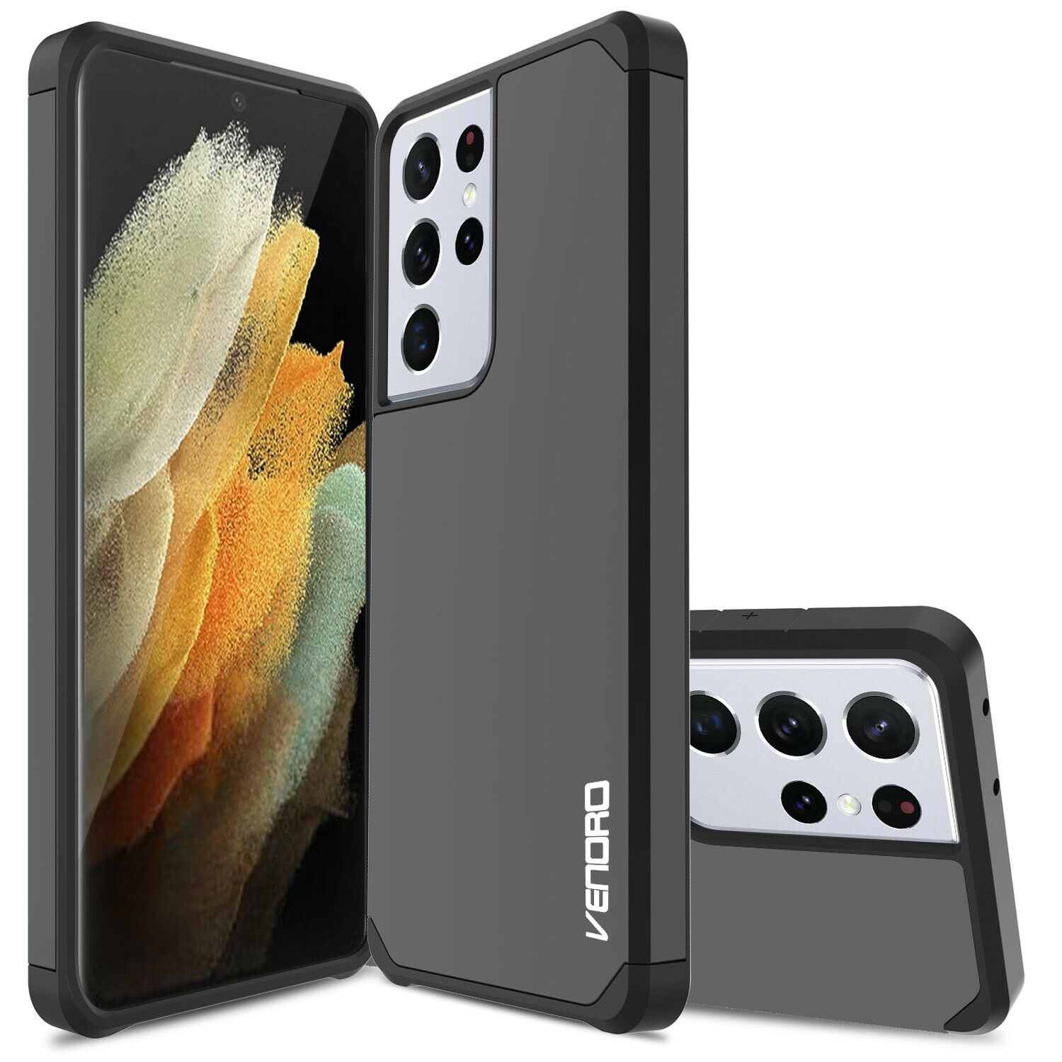 For Samsung Galaxy S21 Ultra/S21+/Plus 5G Phone Case Armor Shockproof Hard Cover Cases, Covers & Skins