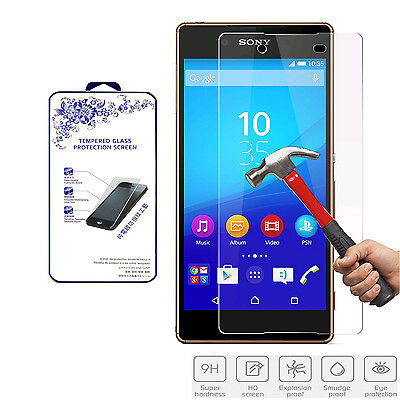 For Sony Xperia Z4 / Z3+ Premium Ballistic Tempered Glass Screen Protector 0.3mm