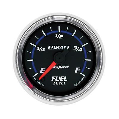 (Auto Meter Cobalt Adjustable Fuel Level Gauge 2-1/16