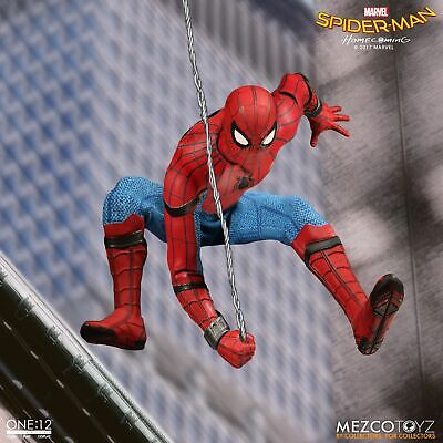 Mens Homecoming (Mezco One:12 Collective Spider-Man Homecoming Spider-Man 1/12 6