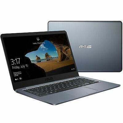 Asus 14 inch HD Display Laptop Celeron N3060 2.48GHz 4GB 64GB eMMC Windows 10