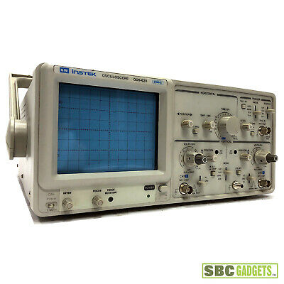 Gw Instek Dual Channel Oscilloscope Gos-620 20 Mhz - Ships Same Day
