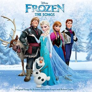 FROZEN THE SONGS CD ALBUM DISNEY SOUNDTRACK  (2015)