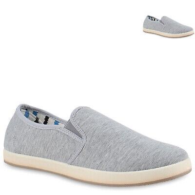 893140 Sportliche Herren Slipper Slip-ons Sneakers Stoffschuhe Freizeit Mode Mode Sneakers Schuhe
