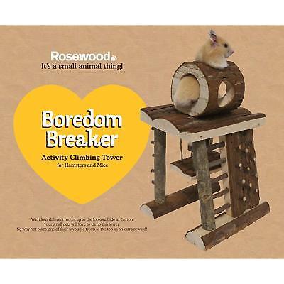 Rosewood Small Animal Activity Toy Activity Climbing Tower Boredom Breaker Boredom Breaker Toy