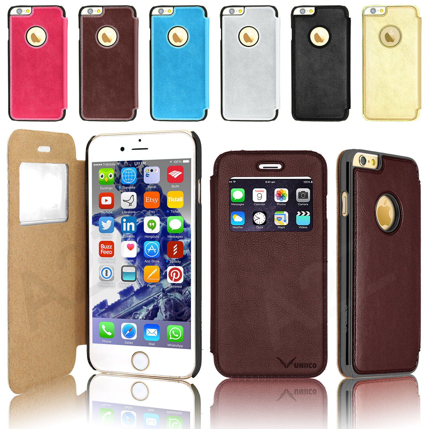 custodia in pelle iphone 4s ebay