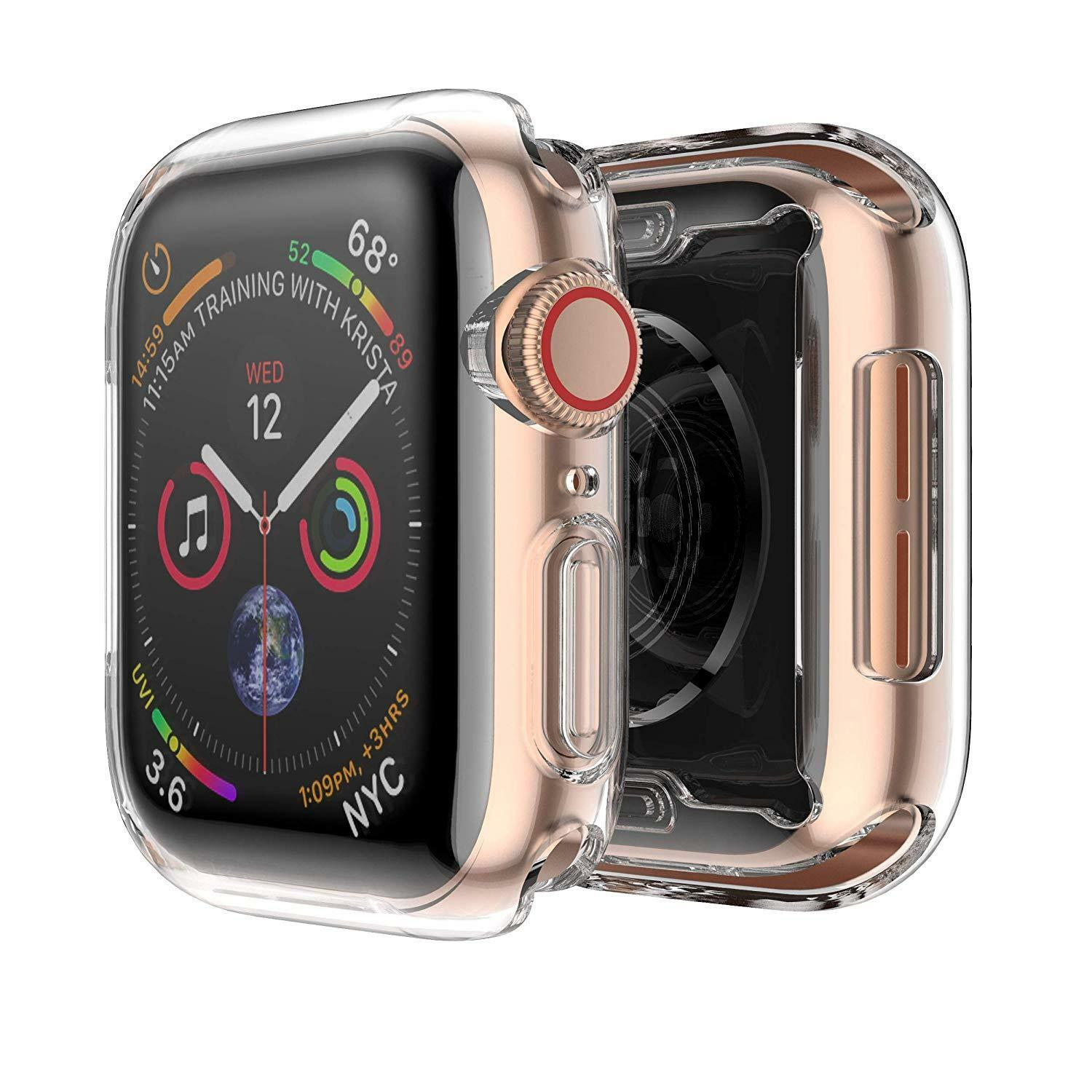 For Apple Watch Series 4 40mm 44mm Case Soft TPU iWatch Cov