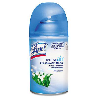(Reckitt Benckiser Spray Dispenser Refill Fresh Scent Aerosol 6.17oz 6/Carton)