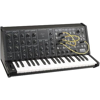 NEW KORG MS-20 mini monophonic analog synthesizer WorldWide Shipment on Rummage