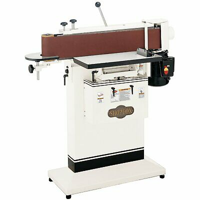 Shop Fox W1688 - 1-12 Hp 6-inchx 80-inch Edge Sander Table