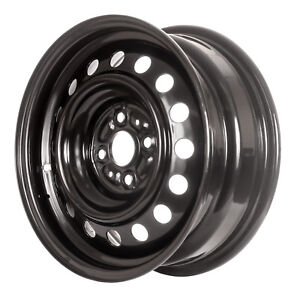 69448 Refinished Scion xB 2004-2006 15 inch Black Steel Wheel, Rim OEM