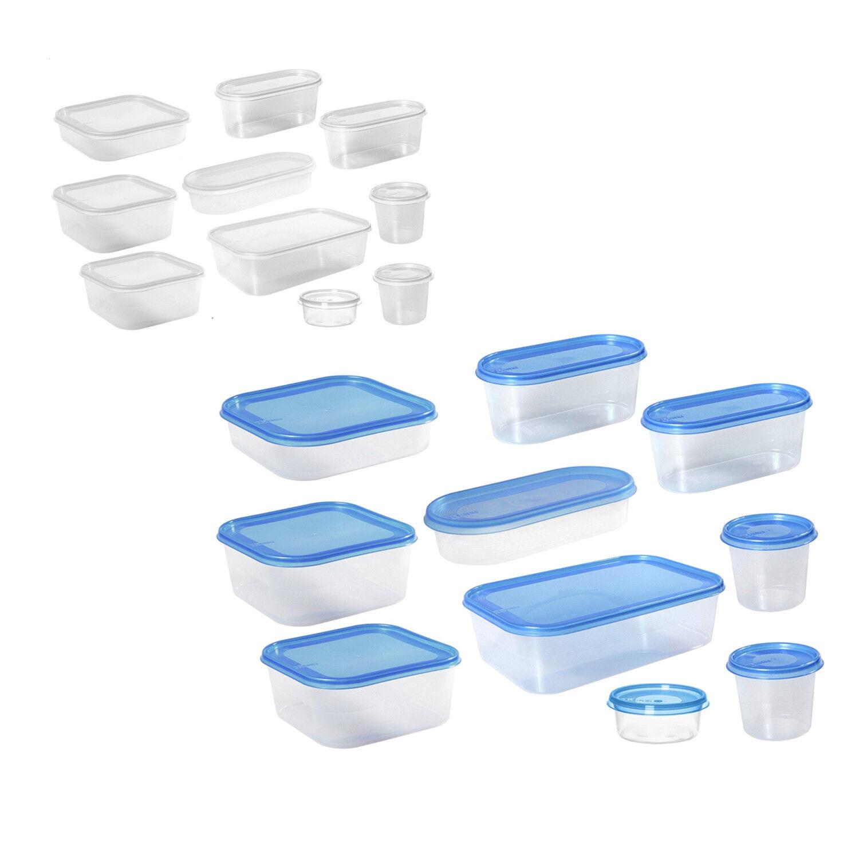 Aufbewahrungbox Lebensmittel Aufbewahrung 10 Stück Set transparent Plast Team