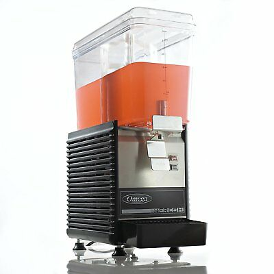 Omega Osd10 Commercial 13-horsepower Drink Dispenser With 3-gallon Container