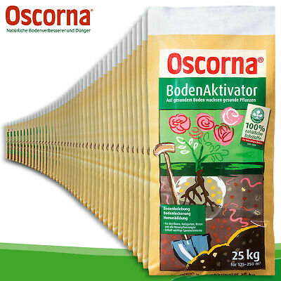 Oscorna -bodenaktivator 1 Range (= 40 x 25 KG) Soil Additive