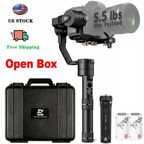 Used Zhiyun Crane Plus 3-Axis Handheld Gimbal Stabilizer for DSLR Camera