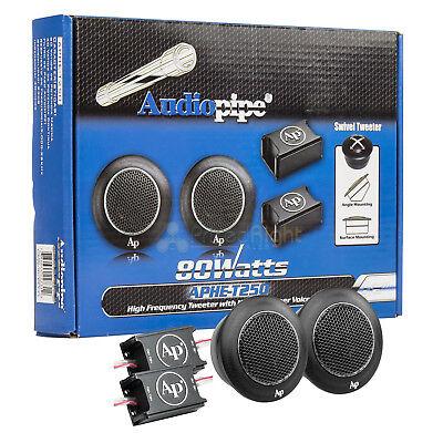- Audiopipe Surface Or Angle Mount High Frequency Swivel Tweeters 80 Watt APHET250