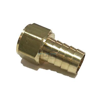 58 Hose Barb X 12 Female Npt Brass Pipe Fitting Npt Thread Gas Fuel Water Air