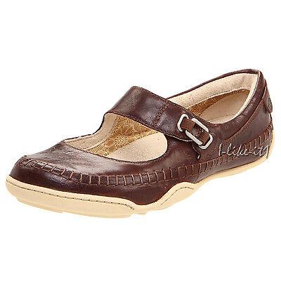 TIMBERLAND Schuhe Damen SNEAKER 42622 EK™ BARESTEP MARY JANE LEDER Braun Neu Mary Jane Sneaker Schuh