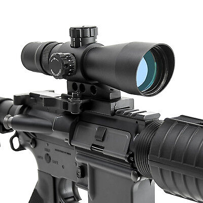 Ncstar 3-9X42 Mark III Tactical GEN II Quick Release P4 SNIPER Rfile Scope