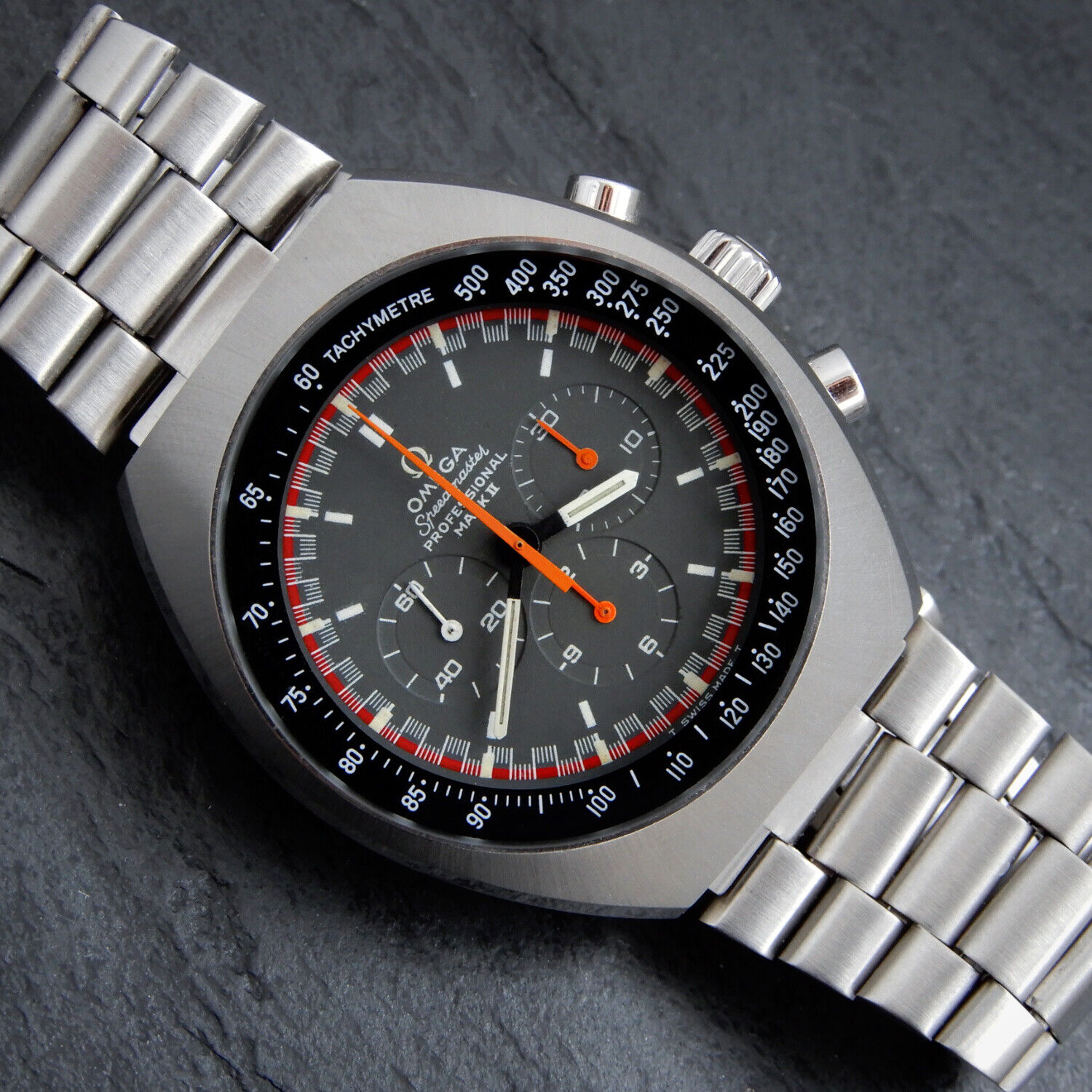 OMEGA Early 1969 SPEEDMASTER CAL. 861 Professional Mark II Vintage Racing Dial - watch picture 1