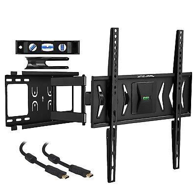 """Full Motion Tilt Swivel TV Wall Mount LED LCD Plasma 32 37 39 42 46 48 50 55 60"""""""