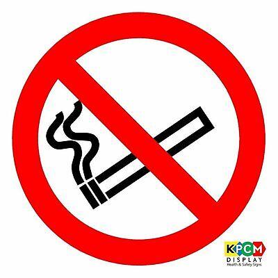 International No Smoking Symbol Sign (ISO Safety Label Sign - International No Smoking Symbol )