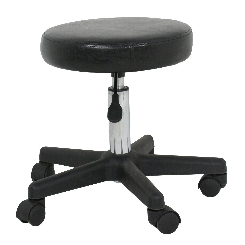 Adjustable Swivel Hydraulic Leather Salon Stool Rolling Seat Office Chair Health & Beauty
