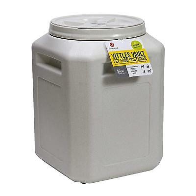 Vittles Vault Stackable Pet Dog Cat Dry Food Storage Container -5/ 30/50 Pound](Pound Dog)