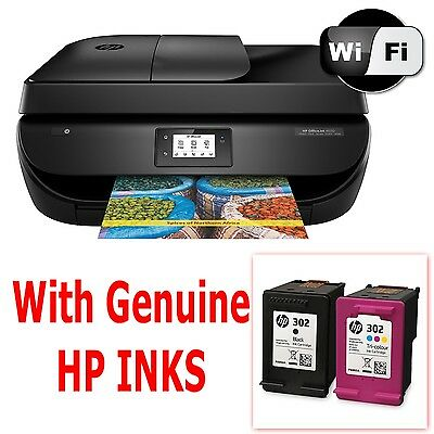 04 HP Officejet 4658 e-All-in-One Wireless Printer Scanner Copier Fax + inks
