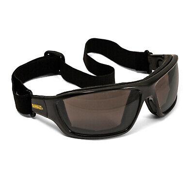 Dewalt Converter Smoke Anti Fog Padded Safety Glasses Sun Hybrid Goggles Z87