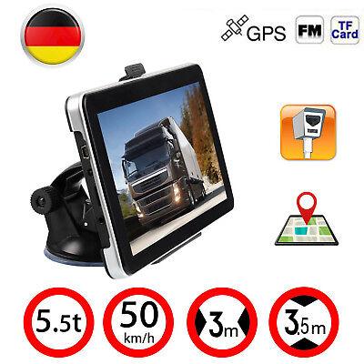 7 Zoll Navigationsgerät Für LKW PKW BUS Navi Navigation GPS POI Blitzer MP3