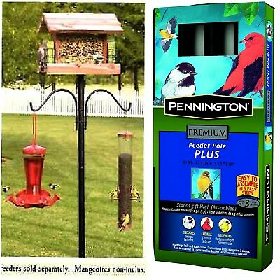 Bird Pole Feeder Station Removable Hangers-Bird House Pole-Pennington Cedar Work