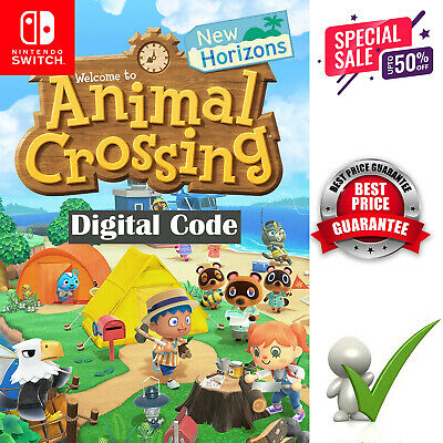 ANIMAL CROSSING New Horizons Nintendo 2020 Switch KEY ONLY **FAST DELIVERY**