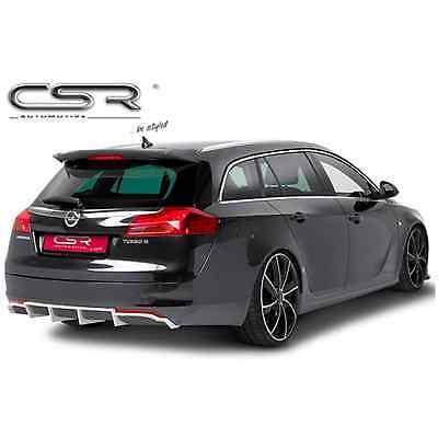 Seite-diffusor (Haarzusatz Stoßstange Hinten Opel Insignia-Break 7/2008-5/2013 ohne Auspuff CSR)