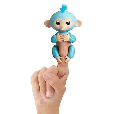 Fingerlings Glitter Monkey - Amelia (Turquoise) BRAND NEW