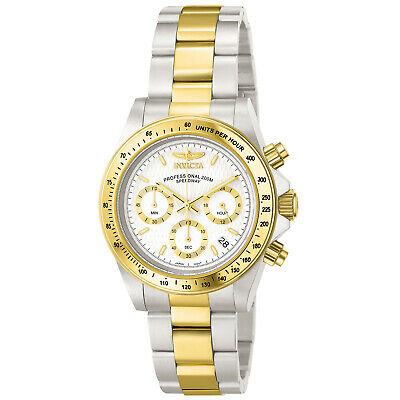 Invicta Men's 9212 Speedway Quartz Chronograph White Dial Watch