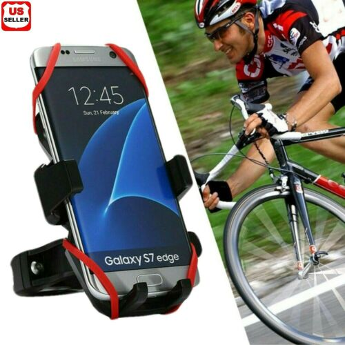 Cell Phone Silicone Mount Holder GPS Motorcycle MTB Bike Bicycle 360 Rotation Cell Phone Accessories