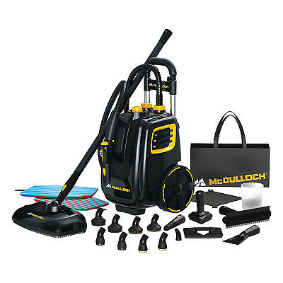 McCulloch Deluxe Canister Deep Clean Multi-Floor Steam Cleaner System   MC1385