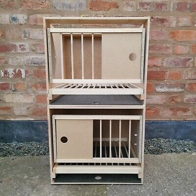 2 x Box Brand New Racing Pigeon nest boxes LUX full set