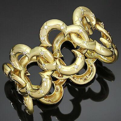 VAN CLEEF & ARPELS Alhambra Yellow Gold Diamond Bracelet