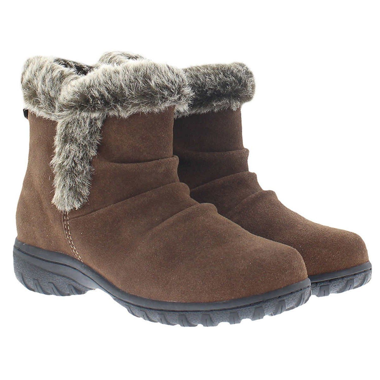 NEW - Khombu Women's Lisa All Weather Snow Winter Boots Brow